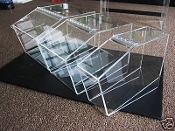 Large Acrylic Bakery Counter Display Bin