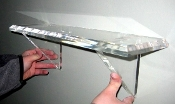 "24"" long Heavy Lucite Shelf"