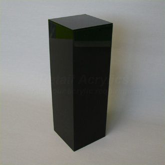 "Black Square Pedestal - 36""  x 16"""