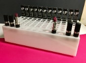 White Acrylic Lipstick Display - Qty 1