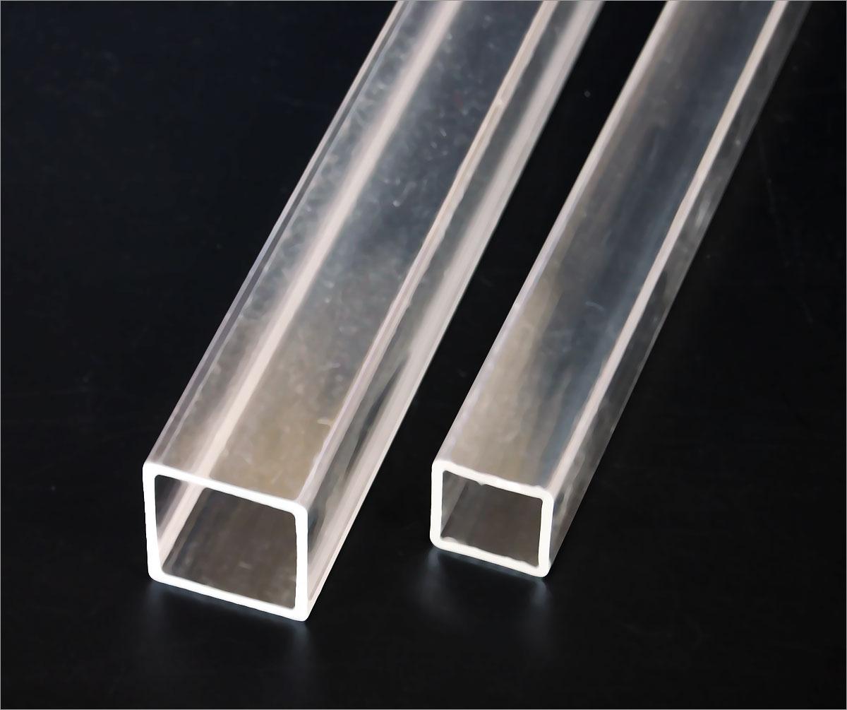 """Acrylic Round Solid Rod Single Rod of 72/"""" x 1/"""" Diameter Cell Cast - Clear"""